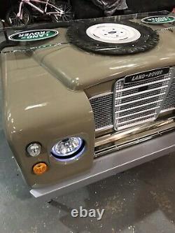 Land Rover Defender desk series 2 LandRover Army style garage office workshop