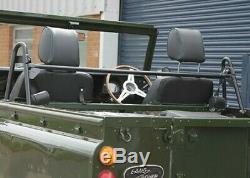 Land Rover Defender or Series Soft Top Front Seat Belt Bar Exmoor Trim