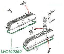 Land Rover Discovery 2 Set Of 2 Valve Cover Gaskets And Intake Plenum Gasket