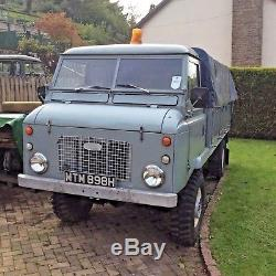 Land Rover Forward Control Series 2B / EXTREMELY RARE 1 of just 117 ever made