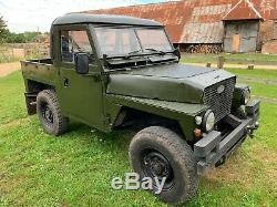 Land Rover Lightweight Series 3 fitted with Rover v8 and overdrive