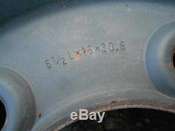 Land Rover Military Series 1Ton 2b 127/130 Deep Dish Steel Wheels x 4 ANR1534