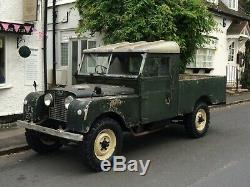 Land Rover Series 1, 109 Diesel 1957