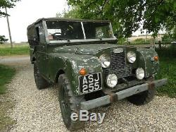 Land Rover Series 1 1955 Barn Find UK car with Heritage Certificate can deliver