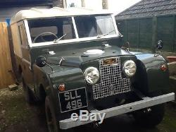 Land Rover Series 1 1956 86 roadworthy and rare