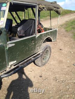 Land Rover Series 1 1957 86 Galvanised Chassis Project