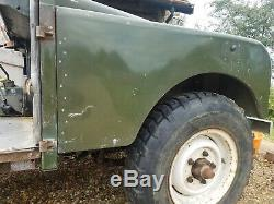 Land Rover Series 1 1957 Original paint. Relatively straight forward project