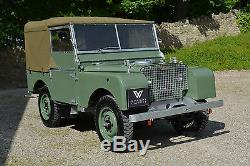 Land Rover Series 1 80 1948 Ken Wheelwright Restoration SOLD MORE REQUIRED
