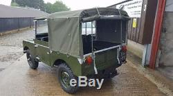 Land Rover Series 1 80 1949 Lights Behind The Grill