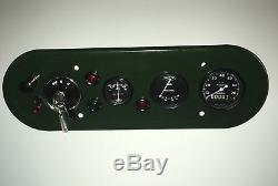 Land Rover Series 1 80 Complete Dash Panel, NOS, New & Refurbished