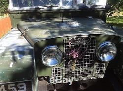 Land Rover Series 1, 86 1955, 2 litre petrol