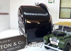 Land Rover Series 1 86 88 107 Rear Brake Tail D Light Style Brass & Glass Lens