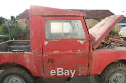 Land Rover Series 1 86 Barn Find Restoration Project