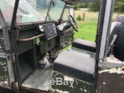 Land Rover Series 1 86 For restoration Galvanised chassis
