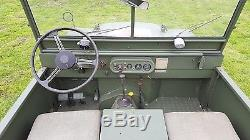 Land Rover Series 1 MINERVA 80 1952