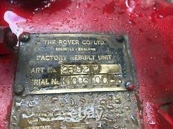 Land Rover Series 1 One 2ltr Spreadbore Engine, Good running order ready to go