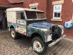 Land Rover Series 1 Project 1957