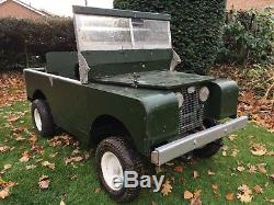 Land Rover Series 1 Replica Childrens Electric Ride On Car, Project Toylander