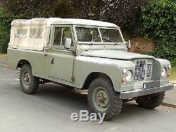 Land Rover Series 2A 109 1971 TAX EXEMPT