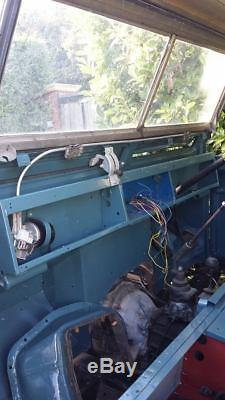 Land Rover Series 2A 88 Galvanised Coil Sprung Chassis Project