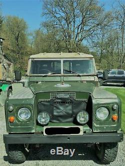 Land Rover Series 2A SWB 2.2 Petrol 1970 Tax + Mot Exempt Free Wheeling Hubs