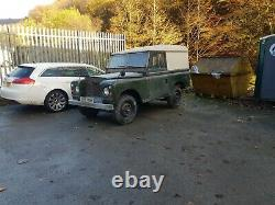 Land Rover Series 2A restoration project 1969