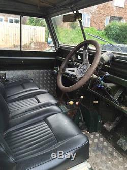 Land Rover Series 2A series iiA V8 LPG years MOT On road off road 1962