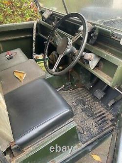 Land Rover Series 2 1959 SWB spares/repair or restoration