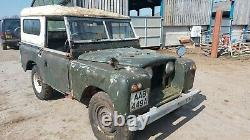 Land Rover Series 2 1960 SWB 2.25 Petrol Project