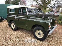 Land Rover Series 2 1960 swb 88 Petrol