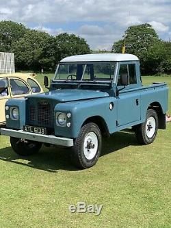 Land Rover Series 2.25 Diesel Tax And Mot Exempt