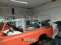 Land Rover Series 2 2a 3 Lwb Galvanised Hood Hoop Stick Set Kit 109 332951