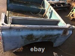 Land Rover Series 2/3 Rear Body Tub -88 -Solid Enough For Light Repair And Fit