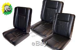 Land Rover Series 2 3 S111 Set of Deluxe Seats 6 Pieces DA4298