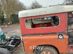 Land Rover Series 2 3 SWB 88 Hard Top Roof with side windows and rear door