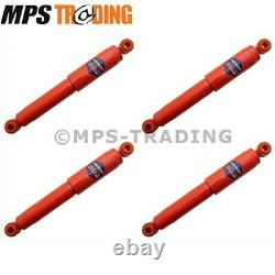 Land Rover Series 2 & 3 Swb 88 Long Travel Shock Absorbers F/r 4 X Dc6012/3