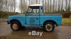 Land Rover Series 2 88 Ex military 1961 Project I can deliver