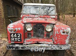 Land Rover Series 2 II 1961 109 Rare Diesel, Somerset reg 442 RYC