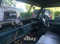 Land Rover Series 2 II 1961 88 2.25 Petrol Galvanised Chassis, Berks Reg YDP 430