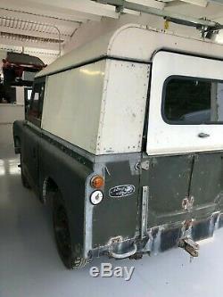 Land Rover Series 2 original 1960 vehicle