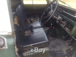 Land Rover Series 2a 109 1969 galvanised chassis