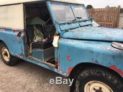 Land Rover Series 2a 109 LWB