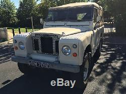 Land Rover Series 2a 1966