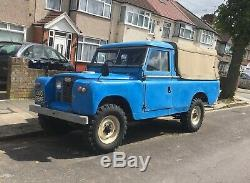 Land Rover Series 2a 1968 109 pick-up historic vehicle, MOT and ULEZ exempt