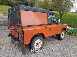 Land Rover Series 2a 1968 200di