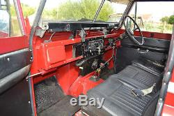 Land Rover Series 2a 1969 Poppy Red Station Wagon Only 3 Owners