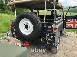 Land Rover Series 2a 2.5na Diesel with Sankey Expedition trailer