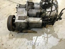 Land Rover Series 2a, 3 Gearbox
