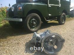 Land Rover Series 2a Complete Reconditioned Gearbox & Transferbox Exchange