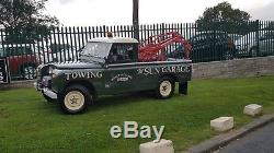 Land Rover Series 2a IIa 109, 1969, Recovery, Overdrive, Harvey Frost